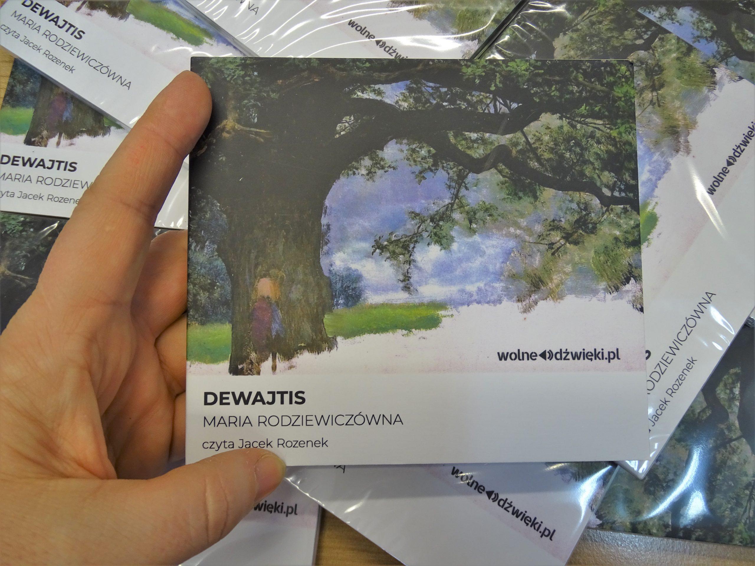 "okładka płyty ""Dewajtis"""